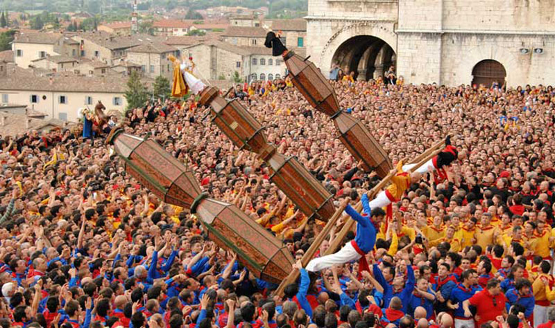The most beautiful parties of patron saints in Italy